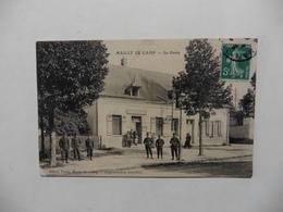 CPA :France :(10) Aube : Militaria :> Guerre 1914-18 : Mailly Le Camp :La Poste - Guerre 1914-18