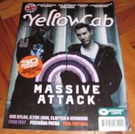 Massive Attack - YELLOWCAB Serbian June 2010 VERY RARE - Magazines
