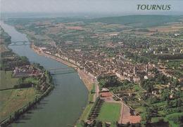 France Tournus With St Philibert Church  Postcard Tournus 1995 Postmark With Slogan Used Good Condition - Frankreich