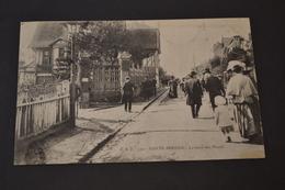 Carte Postale 1906 Le Havre La Route Des Phares Animée - Autres