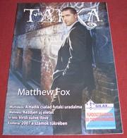 Matthew Fox TARKA VILAG Serbian January 2007 VERY RARE - Books, Magazines, Comics
