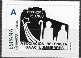 ESPAÑA. TUSELLO. 25 ANIVERSARIO ASOCIACION BELENISTA ISAAC LUMBIERRES. MONZON (HUESCA) - 1931-Hoy: 2ª República - ... Juan Carlos I