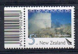 NOUVELLE-ZELANDE - NEW ZEALAND - WHAKAREWAREWA - GEYSER - 2007 - 5ç - - Neufs