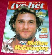 Matthew McConaughey  TVR HET Hungarian May 1999 RARE - Livres, BD, Revues
