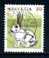 SVIZZERA - HELVETIA - Year 1991 - Viaggiato - Traveled - Voyagè - Gereist. - Suisse