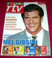 Mel Gibson  SZINES RTV  Hungarian March 2003 RARE - Books, Magazines, Comics