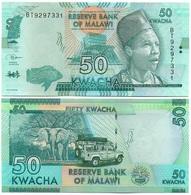 Malawi - 50 Kwacha 2018 UNC Lemberg-Zp - Malawi