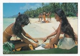 Carte Postale Jeune Polynésiennes - Polinesia Francese