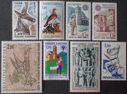 FD/3092 - ANDORRE FR. - ANNEE 1979 (COMPLETE) N°274 à 281 NEUFS** - Cote : 19,60 € - Ungebraucht