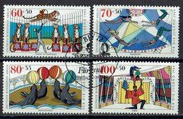 Berlin 1989 // Mi. 838/841 O - Berlin (West)