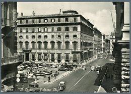°°° Cartolina N. 840 Roma Il Corso Palazzo Chigi Viaggiata °°° - Roma