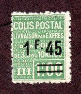 France Colis N°92 N* TB Cote 75 Euros !!!RARE - Colis Postaux