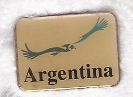 Argentine PIN Condor -  3x2cm - Vintage 1960' - Ciudades