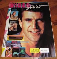 Mel Gibson - VIDEO STUDIO Yugoslavian April 1991 EXTREMELY RARE - Books, Magazines, Comics