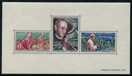 Dahomey 1966 // Appel De Paul VI En Faveur De La Paix Bloc-feuillet Neuf** MNH No.4 Y&T - Bénin – Dahomey (1960-...)