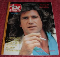 Mel Gibson RADIO TV REVIJA Yugoslavian June 1988 VERY RARE - Magazines