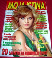 Mena Suvari MOJA ISTINA Croatian September 2009 - Books, Magazines, Comics