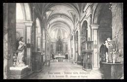 SANT'ORESTE - ROMA - 1929 - INTERNO DELLA COLLEGIATA DI S.LORENZO - Roma
