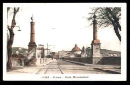ARICCIA - ROMA - 1936 - PONTE MONUMENTALE - ACQUERELLATA - Roma