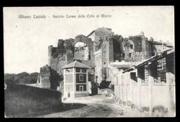 ALBANO LAZIALE  - ROMA - INIZI 900  - ANTICHE TERME DELLE CELLE DI MARIO - Roma