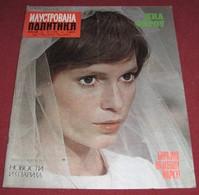 Mia Farrow ILUSTROVANA POLITIKA Yugoslavian February 1972 ULTRA RARE - Magazines