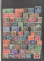 Deutsches Reich - Lotto - Accumulo - Vrac - 246 Francobolli - Usati, Alcuni Su Frammento O Con Sovrastampa - Francobolli