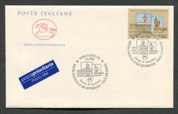 FDC ITALIA 2006 - CAVALLINO - MOSTRA FILATELICA DELLE DUE REPUBBLICHE - ITALIA SAN MARINO - 364 - 6. 1946-.. Repubblica