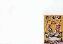 Publicité, Alimentation Vins Richard Chambéry, Vermout Richard - Pubblicitari