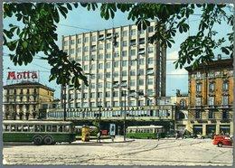 °°° Cartolina N. 844 Il Palazzo Delle Ferrovie Nord Milano Viaggiata °°° - Milano