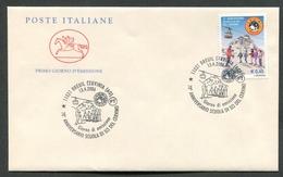 FDC ITALIA 2006 - CAVALLINO - ANNIVERSARIO SCUOLA DI SCI DEL CERVINO - 365 - 6. 1946-.. Repubblica