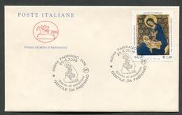 FDC ITALIA 2006 - CAVALLINO - GENTILE DA FABRIANO - 366 - 6. 1946-.. Repubblica