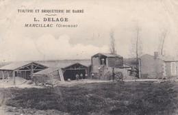 33 - GIRONDE - MARCILLAC - Tuilerie Et Briquetrie De Barré - L.Delage - Bon état - France