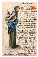 02908-LE-TUNISIE-Bédouine Portant Son Enfant-----------animée - Tunisie