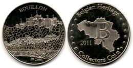 Jeton - Belgian Heritage - Bouillon (2011) - Touristiques