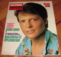 Michael J. Fox - ILUSTROVANA POLITIKA Yugoslavian October 1985 VERY RARE - Books, Magazines, Comics