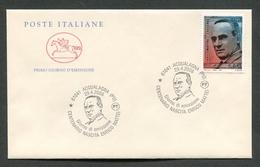 FDC ITALIA 2006 - CAVALLINO - ANNIVERSARIO NASCITA ENRICO MATTEI - ACQUALAGNA ( PU ) - 369 - 6. 1946-.. Repubblica