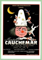 Carte Postale : Monsieur Cauchemar (cinéma - Affiche - Film De J.P. Mocky) Illustration Léo Kouper (clown) - Kouper