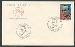 FDC ITALIA 2006 - CAVALLINO - ANNIVERSARIO NASCITA ENRICO MATTEI - ROMA - 371 - 6. 1946-.. Repubblica
