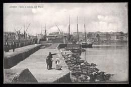 ANZIO  - ROMA - 1911  - MOLO E VEDUTA DEL PORTO - Roma