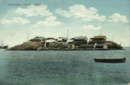 Yemen, ADEN, Quarantine Island (1910s) Postcard - Yemen