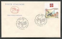FDC ITALIA 2006 - CAVALLINO - LE REGIONI D'ITALIA - IL PIEMONTE - 373 - 6. 1946-.. Repubblica