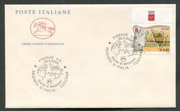 FDC ITALIA 2006 - CAVALLINO - LE REGIONI D'ITALIA - LA TOSCANA - 374 - 6. 1946-.. Repubblica