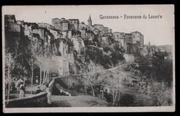 GENAZZANO  - ROMA - INIZI 900  - PANORAMA DA LEVANTE - Roma