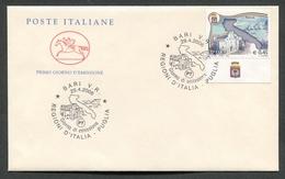 FDC ITALIA 2006 - CAVALLINO - LE REGIONI D'ITALIA - LA PUGLIA - 375 - 6. 1946-.. Repubblica