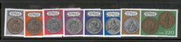 SAN MARINO 1972 Coins Scott Cat. No(s). 790-797 MNH - Coins