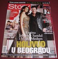 Michael Madsen Emina Jahovic Sandal STORY Serbian March 2013 RARE - Magazines