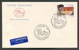 FDC ITALIA 2006 - CAVALLINO - ANNIVERSARIO SCOMPARSA CRISTOFORO COLOMBO - 376 - 6. 1946-.. Repubblica