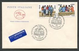 FDC ITALIA 2006 - CAVALLINO - EUROPA CEPT 2006 - L'INTEGRAZIONE VISTA DAI GIOVANI - 379 - 6. 1946-.. Repubblica