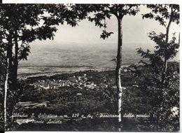 Abbadia S. Salvatore M. 829 S.m. - Panorama Dalle Pendici Del Monte Amiata - Italia