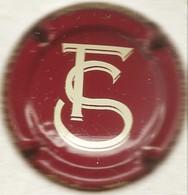 Fir Stéphane N°1, Rouge Foncé & Gris-crème - Champagne